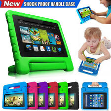 Kids Shock Proof EVA Handle Stand Case Cover For Amazon Kindle Fire HD 7 HD 8
