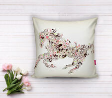 Decorative Square Pillow, Cushion (with insert), Polyester, 17x17 inch