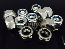 M2 - M8, Nyloc Nuts, A2 Stainless.