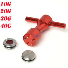 10g~40g Red Golf Custom Weights & Red Wrench Fit Titleist Scotty Cameron Putters
