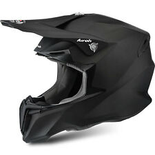 2016 Airoh Twist Motocross Helmet - Black Matt