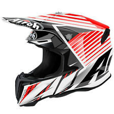 2016 Airoh Twist Motocross Helmet - Strange Red