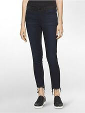 calvin klein womens ultimate skinny colorblock ankle jeans