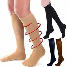 Pain Relief Compression Knee Stockings 30-40 mmhg Sports Leg Support Socks