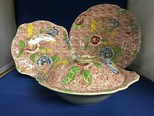 Johnson Brothers ENGLISH COUNTRYSIDE Pink Multicolor Dinnerware