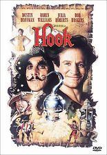 Hook (DVD, 2000, Closed Caption) Robin Williams, Dustin Hoffman, Julia Roberts