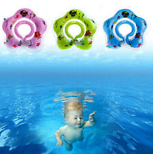 Neck Float Ring Hot Aid Toy Safety Bath Swimming Circle Inflatable Baby Newborn