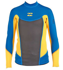 2mm Junior's Billabong FOIL L/S Wetsuit Jacket