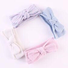 Infant Girls 0~6 Months Hospital Headbands Bowknot Hairbands Newborn Baby