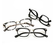 New Retro Eyeglasses Glasses Frame Men Women Vintage Glasses Eyewear Clear Lens