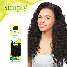 Outre Simply 100% Human Hair Bundle Weave Curly Extension Brazilian Natural Deep