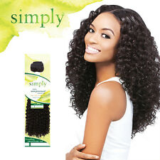Outre Simply 100% Human Hair Bundle Weave Extension Brazilian Natural Curly