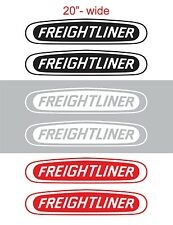 "2pcs 20"" FREIGHTLINER Vinyl Sticker Decal Graphic COLUMBIA CASCADIA SEMI TRUCK"