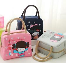 Various Insulated Picnic Travel Lunch Bento Food Storage Box Tote Pouch Bag