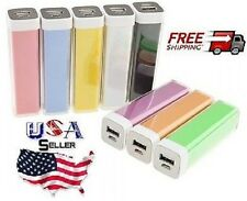2600mAh USB Portable External Backup Battery Charger Power Bank for cell phone