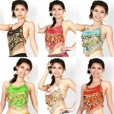 New Bloomer Cotton Belly Dance Dancing Costume Choli Top Bra Tribal 10 Colors