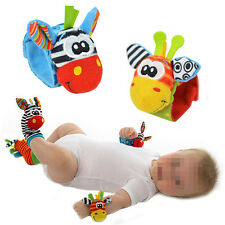 Infant Baby Kids Foot Socks Rattles finders Glove Toys Developmental Gracious