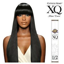 Cuticle Remy XQ 100% Human Hair Yaky Straight Weaving Extension 1/2 Half Pack