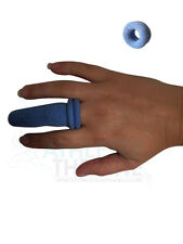 Qualicare Blue Cot Finger Bobs Stall First Aid Tubular Catering Dressing Bandage