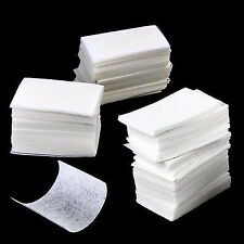 Nail Remover Wipes Polish Gel Cleaner Manicure Lint Cotton Pads Paper Art  @#