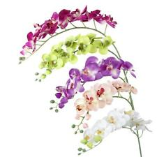 Artificial Butterfly Orchid Flower Plant Office Party Wedding Decor