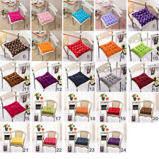 40cm Square Dining Garden Patio Chair Seat Pad Tie On Pad Cushion Kitchen Decor