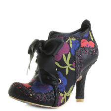Womens Irregular Choice Abigails Third Party Black Multi Floral Boots Size