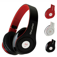 New Headband Stereo Headphone Headset Super Bass With Mic For IPhone For Samsung