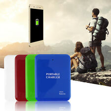 Portable USB 4AA Battery Emergency Charger Power Bank Case For Cell Phone FE