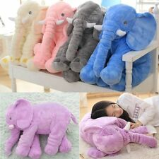 Stuffed Animal Cushion Kids Baby Sleeping Soft Pillow Toy Cute Elephant FE