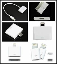 Lightning USB Converter Adapter Charger For iPhone 4 5 6 iPod SAMSUNG Android