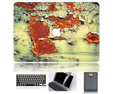 "Stain Rubberized Matte Hard Case Cover Set Macbook Pro/Air 11 12 13 15""Touh Bar"