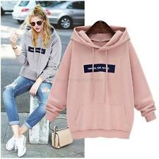 Fashion Women Warm Hoodie Sweatshirt Lady Hooded Sweater Coat Jumper Pullover UK