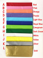 40x Coloured Tissue Paper Gift Wrap Party Weding Birthday Wrapping sheets Bulk