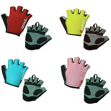 Outdoor Sports MTB Road Bike Bicycle Cycling Short Fingerless Gel Gloves Mitts