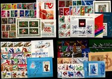 RUSSIA SOVIET UNION SPORT OLYMPIC GAMES MIXTED LOT OF 17  FULLSETS 1962-1992 MNH
