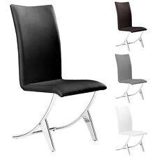 Delfin Dining Chair ZUO Modern Dining Chair Armless Chair Side Chair (SET OF 2)