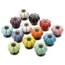 Door Cabinet Multicolor Cupboard Spherical Handles Knobs Pull Drawer New Ceramic