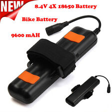 NEW 8.4V Rechargeable 4800mAh 2×18650 Battery Pack For Bicycle light Headlamp
