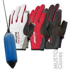 Musto AS0803 Essential Sailing Long Finger Gloves (3 Cols)