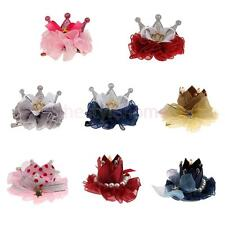Phenovo Baby Girl Hair Clips Hairpin Bow Crown Flower Pearl Boutique Accessories
