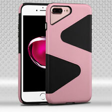For Apple iPhone7 Plus Case Hybrid Heavy Duty Cover [Stylus+Screen Protector]