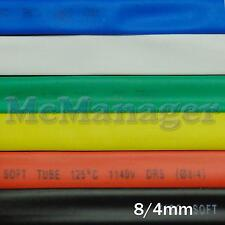 8mm 8/4mm Heat Shrinking Tubes Various Legnth Colour Wire Insulation Sleeve
