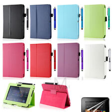 "PU LEATHER CASE COVER WITH STAND FOR AMAZON KINDLE FIRE 7"" INCH Screen Protector"