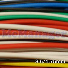 3.5mm 3.5./1.75mm Heat Shrinking Tubes Various Length Colour Wire  Sleeve