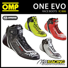 NEW! IC/806 OMP ONE EVO SHOES LIGHTWEIGHT RACE BOOTS FIA APPROVED OMP NEW MODEL
