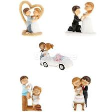novelty Cake Toppers Groom and Bride Wedding Cake Cartoon Cake Topper Figurine