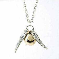 Bronze Fashion Ladies Girls Wholesale Pendant Thin Silver Necklace Angel Wing
