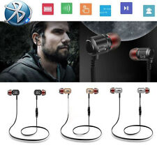 Bluetooth Wireless Stereo Bass Headphones Waterproof Sport Headsets For iPhone 7