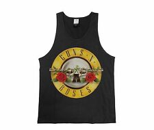 GUNS N ROSES DRUM CHARCOAL MEN'S AMPLIFIED VEST SMALL